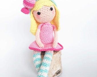 Bonny bonbon crochet pattern/dutch /english pdf file