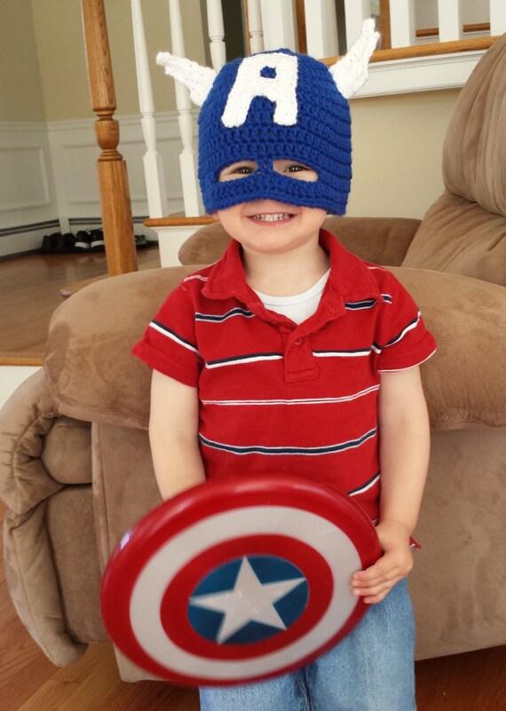 Chapeau masque de captain america - Masque de captain america ...