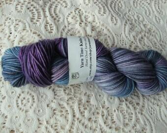 Hand Dyed Yarn Merino Cashmere Nylon DK  Baron