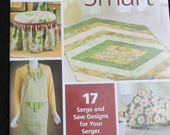 PB56 Serge Smart 17 Serge & Sew Designs Apron Ottoman Cover Tea Cozy Dress House of White Birches