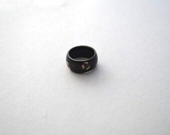 African Bone Tribal Ring