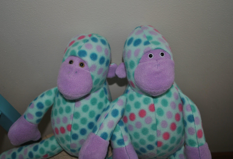 Entzückende Mitch der Affe gefüllte Tier Plushie Funky Freunde