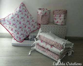 Pink Flamingo Cushion cover/pillow / kids room decoration