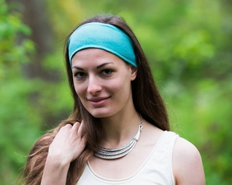 Headband/ Stretchy Hemp and Organic Cotton