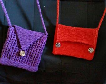 Crochet Bags w/strap