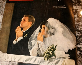 1966 Life Magazine//Luci's Wedding//August 19, 1969//Vintage Magazine