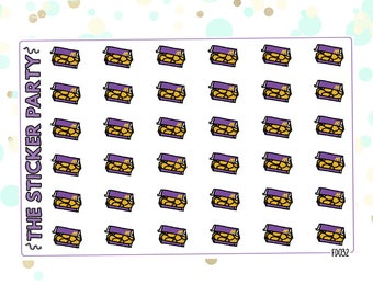 Nuggets McDonald's Nuggets Planner Stickers