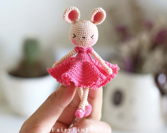Crochet Pink Rabbit