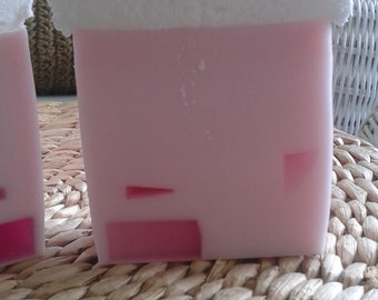 Strawberry and Pearls Shea Soap