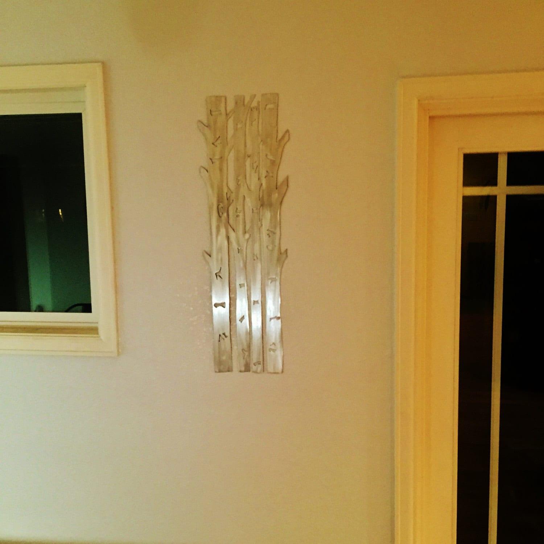 Aspen Trees Metal Wall Art, Aspen Tree Home Decor, Hand cut Aluminum ...
