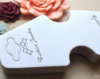"""102 x 45 mm White Color """"Handmade Product"""" Paper Hang Tags (.mn)"""