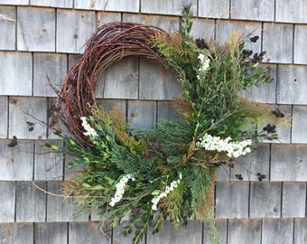 Maine Made Winter Wreath