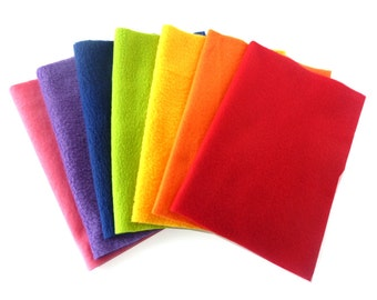 Reusable Swiffer Mop Pads - Dry or Wet Mop Rainbow Swiffer Sweeper Cleaning Cloths - 7 Pack - Comes with all natural floor cleaning recipe
