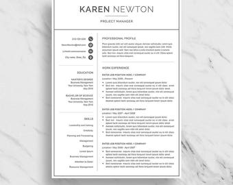 modern resume template for word minimalist resume design 2 page resume download simple modern resume