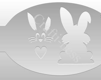 Crafti-Ness #210 Animals Bunny Stencil
