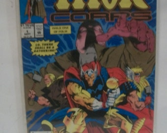 Thor Corps #1   Beta Ray Bill On Cover  Issue One of Four  VF-NM Unread  Vintage Comic Book Marvel Comics 1993