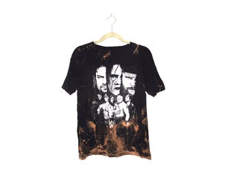 WWE Acid Washed Tee