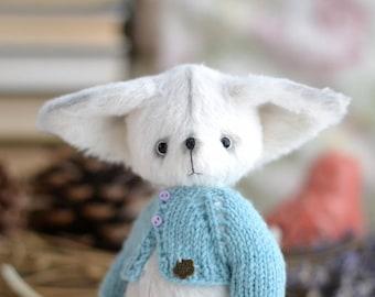 Fennec Fox, Fox toy, little Fox, fennec teddy, ooak toy cute fox fennec