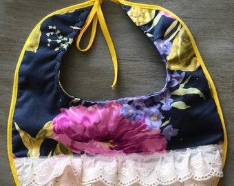 Lace Flower Bib