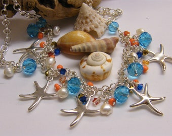 OCEAN 'Starfish Charm Necklace'