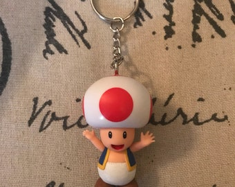 Toad from Super Nintendo Keychain