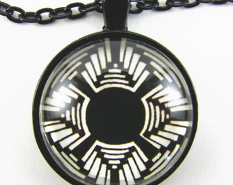 Men's SUN MANDALA Necklace -- Native American spiritual art necklace,  Celebration of Light,  Gift for him or her,   First Nations art