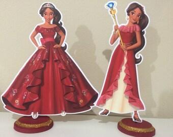 Elena of Avalor Centerpieces, Elena of Avalor Birthday Centerpieces, Elena of Avalor Party, Princess Elena of Avalor Centerpieces,
