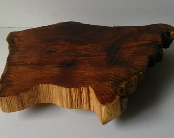 Natural Look Rustic Wood Table Riser Wedding Cake Stand Cabin Decor Farmhouse Primitive