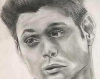Jensen Ackles//Dean Winchester Portrait