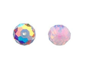 Violet Opal AB 5040 - 6mm - Swarovski Crystal Elements Rondelle Beads (12 or 36 pcs)