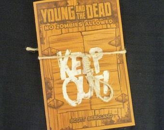 Young and the Dead: No Zombies Allowed Artist Edition-Issue 2 comic book- mini comic- zombie comic- kids vs. zombies- Goonies- Walking Dead