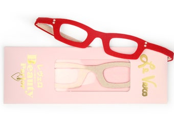 Girls Who Wear Glasses- red and cream