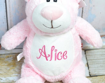 Personalized teddy bear baby gift, Monogrammed stuffed animal teddy bear, monogrammed baby gift, monogrammed teddy bear, monkey, elephant