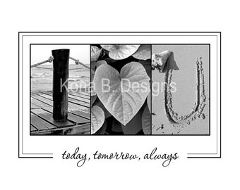I HEART U -  Alphabet Photography - Gift for him, Gift for her, Valentine's Day, gift under 25 - 8x10 unframed