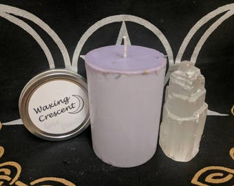Protection and Happiness Spell Candle - Small