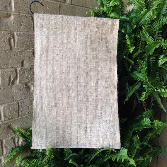 Superieur Blank Burlap Garden Flag, Garden Flag, Burlap Flag, Blank Flag, Blank,  Blanks, Yard Decor, Outdoor Flag, HTV, Paint, Landscape Flag, Flag, ...