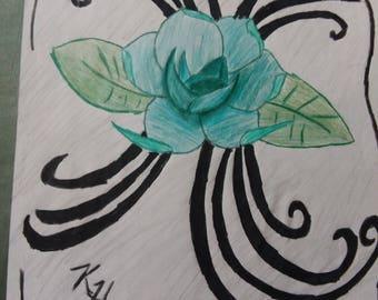 Blue Rose Art, Original Art