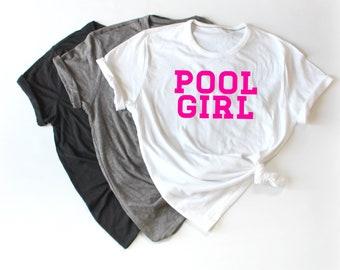 Pool Girl Summer Shirt, Cute Summer Shirt, Beach Shirt, Vacation Shirt