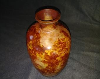 Saggar Pit Fired Vase