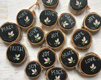 mini magnets, bulk pricing available, party favors under 5,  rustic wedding favor magnets, mini personalized magnets, personalized favors