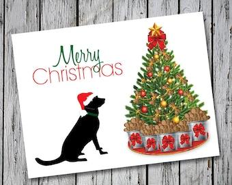 Labrador Retriever Christmas Cards Set of 20 with Envelopes  - Big Max Christmas Cards