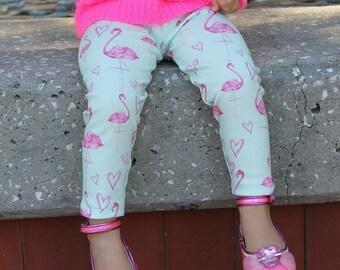 Flamingo Love Leggings