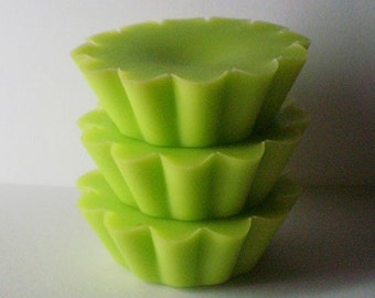 5 GREEN APPLE Soy Wax Tarts - Melts