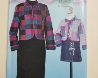 Simplicity Pattern Size Child 3-8 and Woman 4-18  #0629