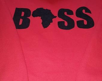 African Boss Hoody