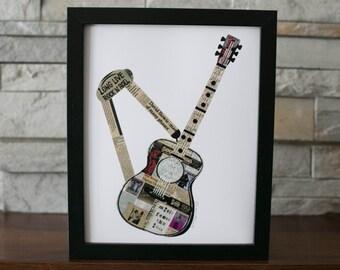 Guitar Print