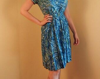 Mod o Day Daydress, mid century dress, vintage day dress, 50s dress