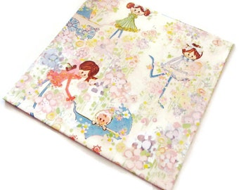 Vintage Wrapping Paper - Young Mamas - Full sheet New Baby Gift Wrap - American Greetings