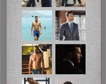 Dakota Johnson Jamie Dorman Fifty Shades Beach Towel  #1173