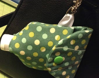 Hand Sanitizer Pouch with Lobster Claw